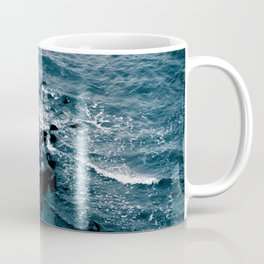 Coastal - Shore off Liberty Island in New York Coffee Mug