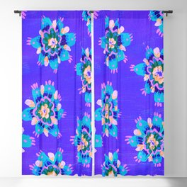 Carnival Rose Blackout Curtain