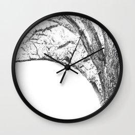Bending Wall Clock