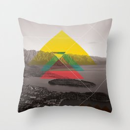 Sojourn series - Queenstown Throw Pillow