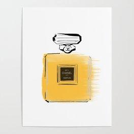 Orange perfume #4 Poster