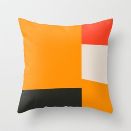 Mid Century Minimal 2 Throw Pillow