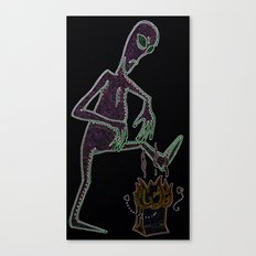 Close Encounters of the Turd Kind Canvas Print