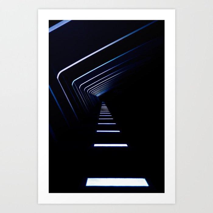 Light Path Art Print