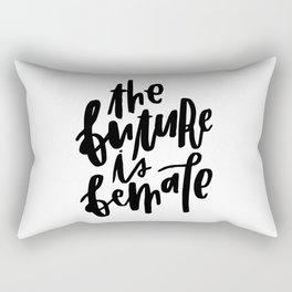 The Future is Female 2 Rectangular Pillow