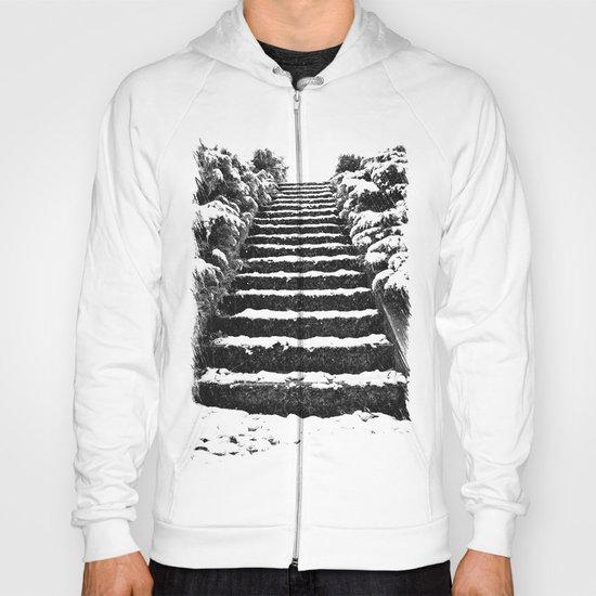Winter stairway Hoody