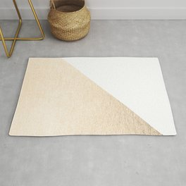 Simply Shadow in White Gold Sands Rug