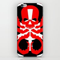 hydra iPhone & iPod Skins featuring Hydra Empire by •tj•rae•