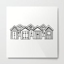 little boxes Metal Print