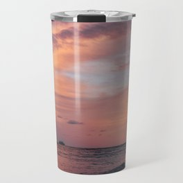 Cotten Candy Sunset Travel Mug