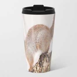 Little squirrel jumping on the branch #decor #society6 #buyart Travel Mug