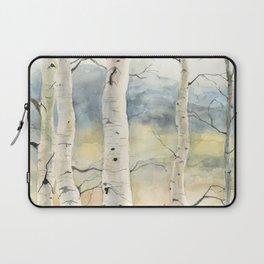 Tender Birch Forest Laptop Sleeve