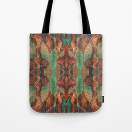 Ecstatic Pelvis (Meat Flame) (Reflected) Tote Bag