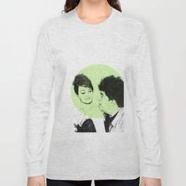 Pedro Almodovar and Penelope Cruz Long Sleeve T-shirt