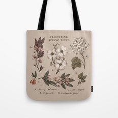 Flowering Spring Trees Tote Bag
