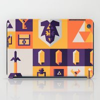 legend of zelda iPad Cases featuring Legend of Zelda Items by Ann Van Haeken