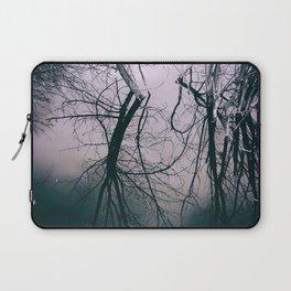 Tree in Cloud Reflection Laptop Sleeve