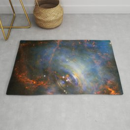 Beating Heart of the Crab Nebula Rug