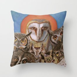 All the Crooked Saints Throw Pillow