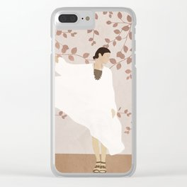 Soft Summer Breeze II Clear iPhone Case