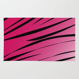 wild lines, exotico  Red Rug