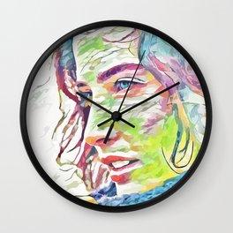 Cobie Smulders (Creative Illustration Art) Wall Clock