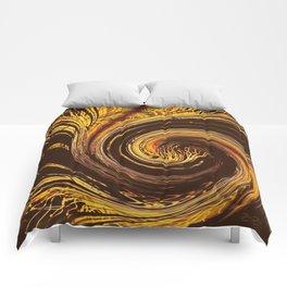 Golden Filigree Germination Comforters