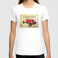 cars T-shirts featuring Classic Cars by Niklab