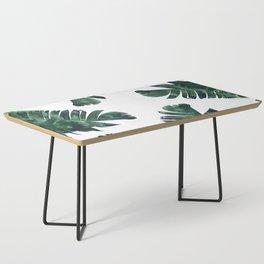 Banana Leaf Watercolor #society6 #buy #decor Coffee Table