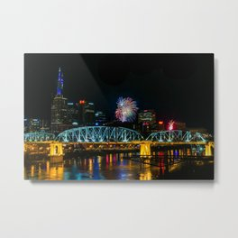 Nashville New Year Metal Print