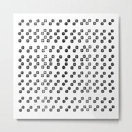 Multitude Cross Metal Print