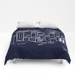 Blueprint Comforters