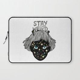STAY WEIRD Laptop Sleeve
