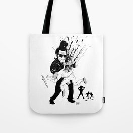 Get out of my sight Tote Bag