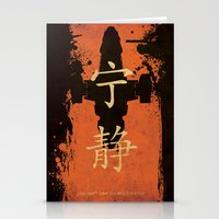 firefly Stationery Cards featuring Firefly by Edmond Lim