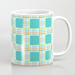 AFE Modern Plaid Pattern Coffee Mug