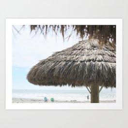 Seaside Paradise Art Print