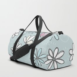 Cute Floral Ditsy Pattern Duffle Bag