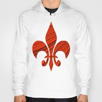 renaissance Hoodies featuring Renaissance Red by Charma Rose