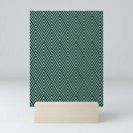 Triangle in Diamonds. Mini Art Print
