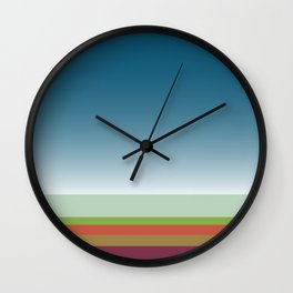 Santa Monica Horizon Wall Clock