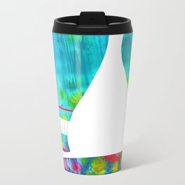 Ride Over Red Hill Metal Travel Mug