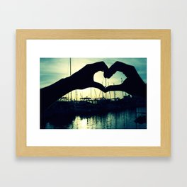Two Become One Framed Art Print