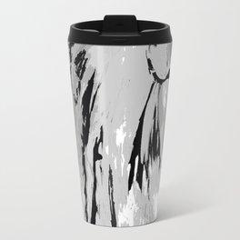 HORSE BLACK AND WHITE Travel Mug