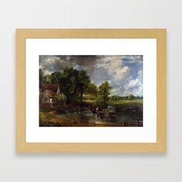 John Constable - The Hay Wain Framed Art Print