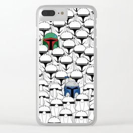 Like Father Like Sons Clear iPhone Case