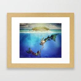 Magical Kingdoms Framed Art Print