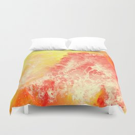 Lovers on the Sun Duvet Cover