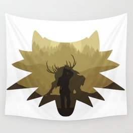 The beast hunt Wall Tapestry