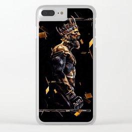 The Irish King Clear iPhone Case